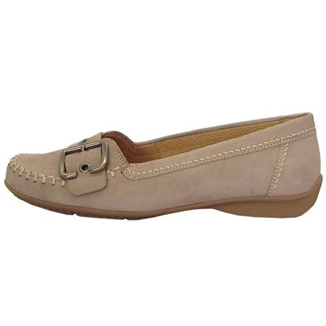 gabor comfort range gabor shoes ascari womens ballet pump in taupe mozimo