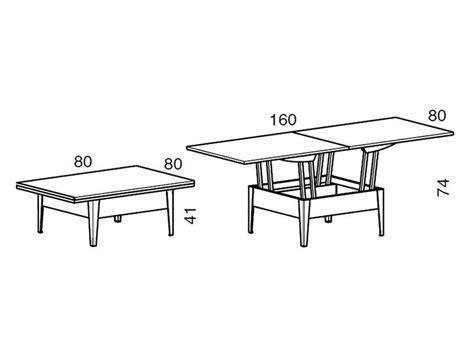 altezza tavolo da pranzo ulisse tavolino trasformabile in tavolo da pranzo 80