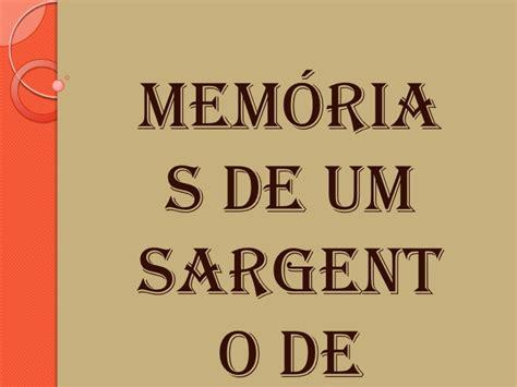 memorias de idhn 2 8467585773 mem 243 rias de um sargento de milicias
