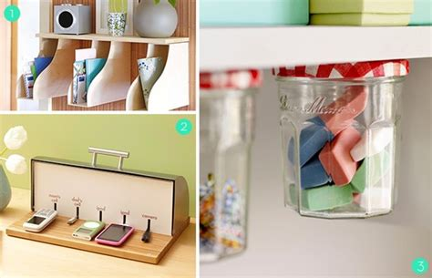Desk Organization Ideas Diy Diy Office Storage And Organization Ideas 187 Organizing