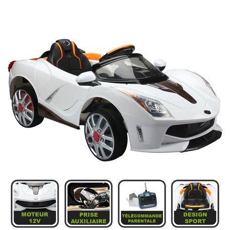 voiture de sport voiture de sport 233 lectrique pour enfant t 233 l 233 commande
