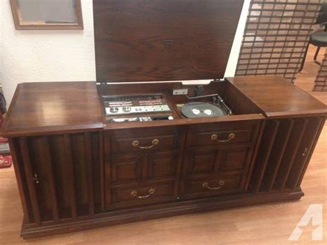 stereo cabinet for sale vintage stereophonic 1971 zenith console stereo for sale