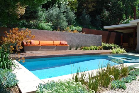 backyard bench ideas pool deck ideas pool modern with backyard built in built