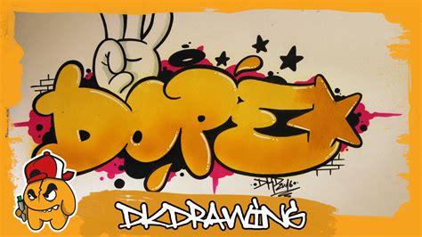 graffiti tutorial   draw dope graffiti bubble style