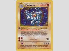 Machamp - 8/102 - Holo 1st Edition (Shadowless) - Base Set ... Machamp
