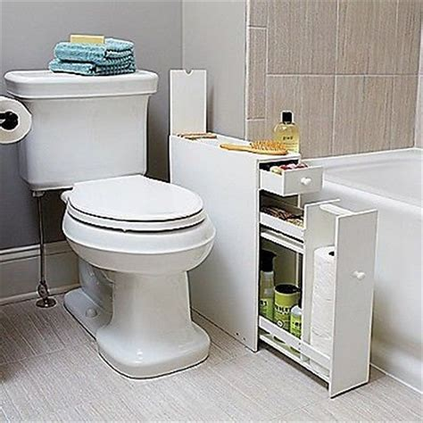 white bathroom floor cabinet for compact slim narrow - Slim Bathroom Floor Cabinet