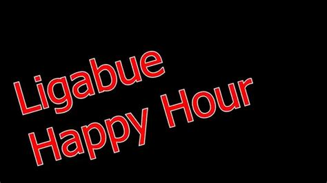 testo canzone happy ligabue happy hour