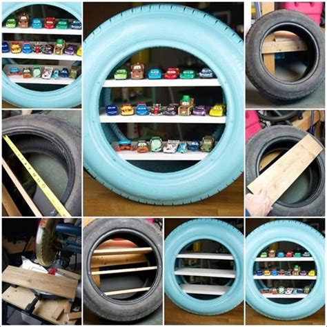Do Tyres A Shelf by 40 Smart Ways To Use Tires Bored