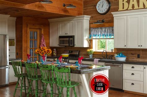 cabin kitchen curtains log cabin white kitchen www pixshark com images