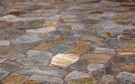 flagstone sunset gold quartzite patio pavers bourget bros