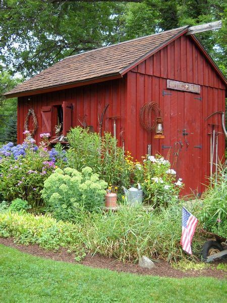 ideas  shed landscaping  pinterest garden