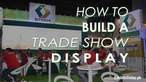 how to a show how to build a trade show display