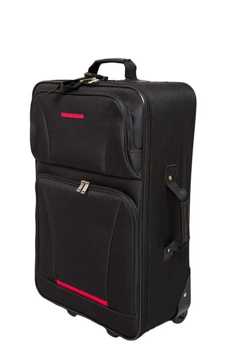 valise de voyage polyester pcs noir magasin en ligne gonser