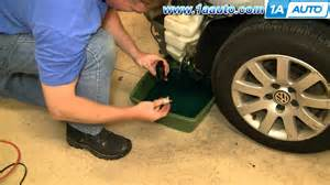how to install replace windshield washer pump volkswagen