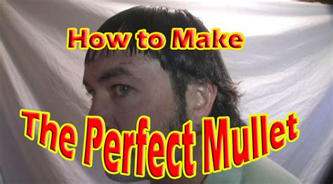 how to give yourself a haircut how to properly give yourself a mullet haircut