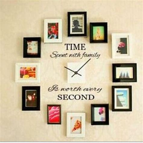home wall decor stickers time spent with family quote wall decoration letters vinyl