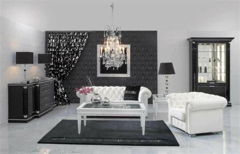 Black N White Living Room by Moderne Tapeten Geh 246 Ren Zu Einer Zeitgen 246 Ssischen Ausstattung
