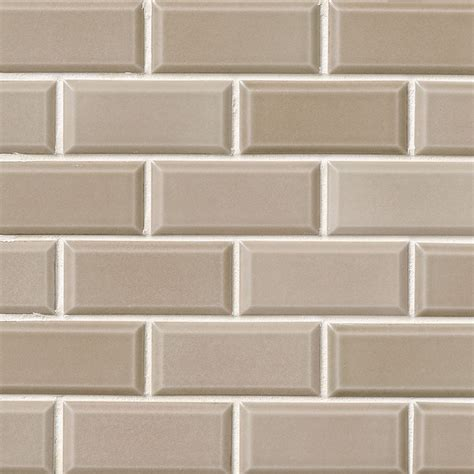 Room Size Visualizer by Subway Tile Taupe Subway Tile2x4