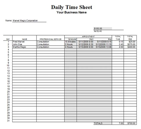time tracking sheet template excel time tracking sheet template