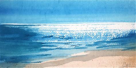 Aquarell Lust Auf Meer S 252 Dseesonne Kreavitalis Bopp
