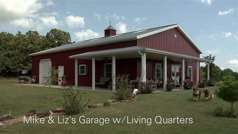 mike lizs garage wliving quarters youtube