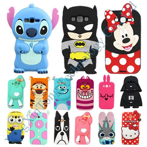 Galaxy V Ace 4 G313 3d Stitch Soft Silicon Cover Casing stitch galaxy ace promotion shop for promotional