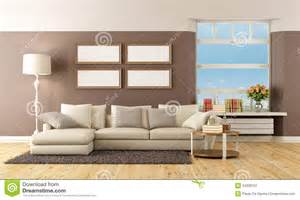brown lounge beige and brown lounge stock image image 34339701