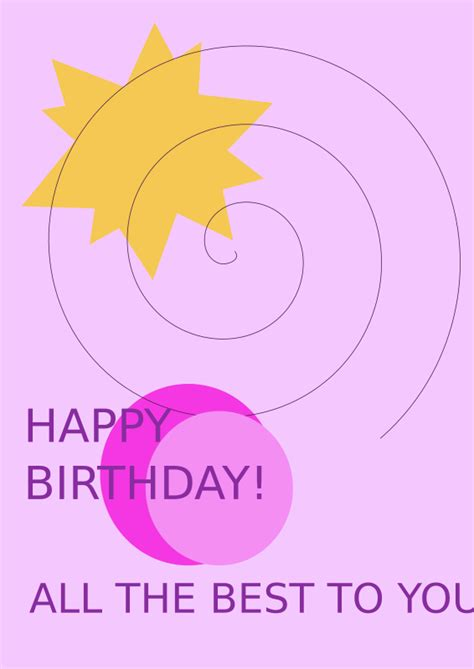 birthday card template for inkscape clipart birthday greetings