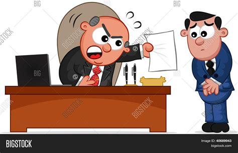 imagenes sarcasticas de jefes vector y foto dibujos animados de negocios jefe bigstock