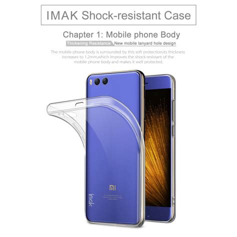 Imak 2 Ultra Thin For Xiaomi Mi Mix imak ultra thin tpu for xiaomi mi6 transparent jakartanotebook