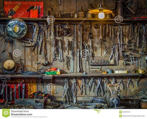 werkstatt vintage le vintage usine l atelier photo stock image du arr 234 ter