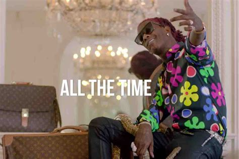 young thug all songs young thug all the time music video fashionably early