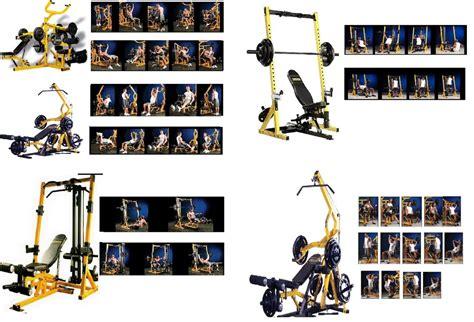 exercice sur banc de musculation 14 176 partie exercice de musculation avec le bullworker