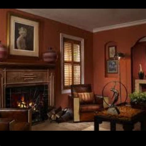 Warm Colors For Living Room Walls by 26 Best Warm Paint Colors And Decorating Ideas Images On