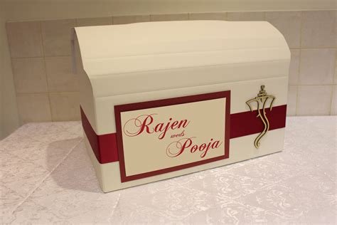 indian wedding card post box personalised indian asian wedding post box for cards with ganeshji wooden embellishment