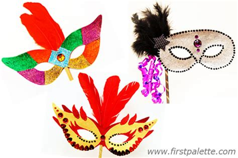 How To Decorate Home For Halloween by Masquerade Mask Craft Kids Crafts Firstpalette Com