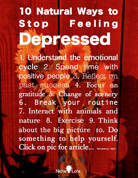 10 Ways To Prevent Depression by 10 Ways To Stop Feeling Depressed Wise Words