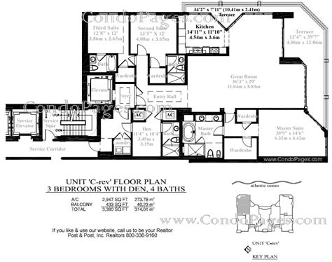 las olas beach club floor plans las olas beach club floorplans quot c rev quot