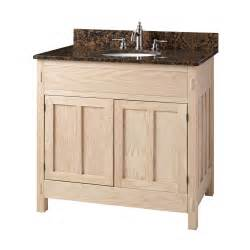 30 quot unfinished mission hardwood vanity for undermount sink