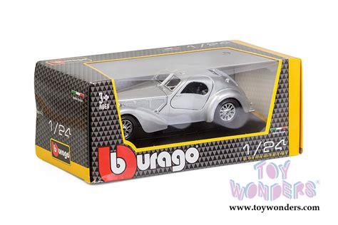 Burago 124 Bugatti Atlantic Silver bburago bugatti atantic top 1 24 scale diecast