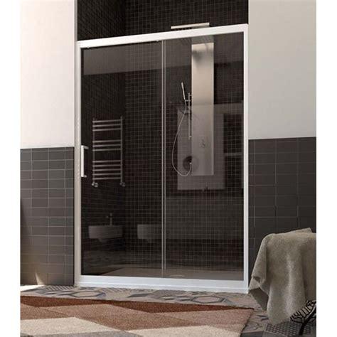 anta per doccia porta doccia per nicchia con anta fissa e scorrevole san