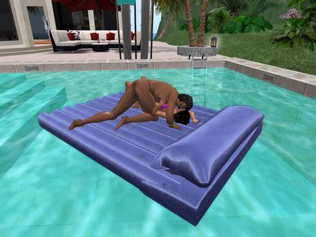 second marketplace float quot quot 220 pose air mattress bed unique drifting