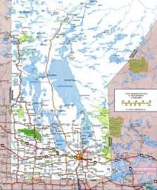map of canada roads manitoba atlas