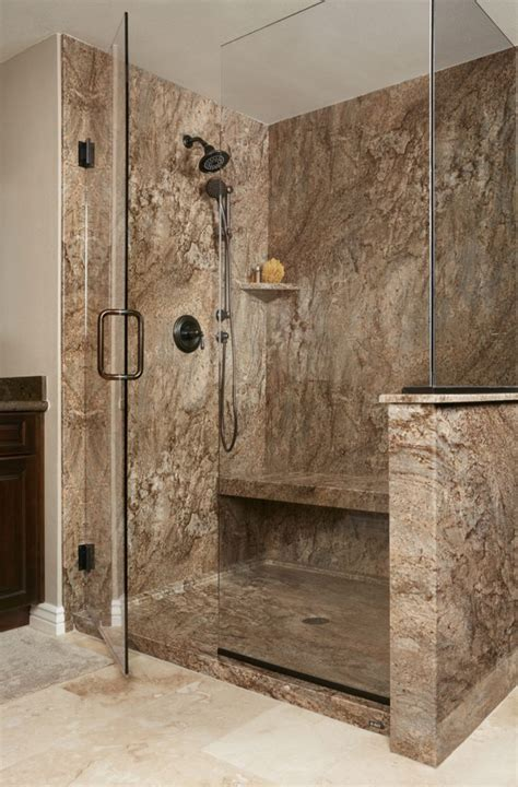 Tahoe Acrylic Granite Bathroom Wall Surround ? Re Bath