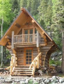 25 best ideas about tiny log cabins on small
