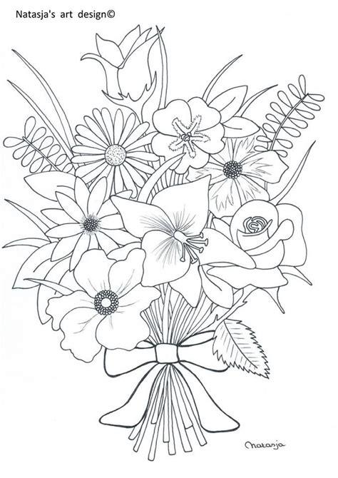 nature scapes coloring pages 1000 afbeeldingen over bloemen kleurplaten op pinterest