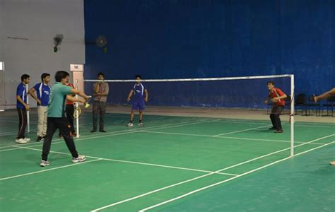 Mba Badminton Tournament by Sports Club Srms Ibs Best Pgdm College Lucknow
