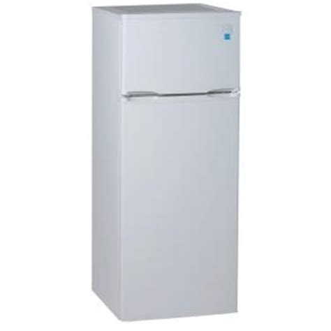 Apartment Size Fridge And Freezer Avanti 7 4 Cu Ft Built In Top Freezer Refrigerator In