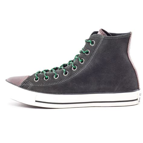Conversehigh Grey Ct2 converse chuck ct hi beluga mens trainers in grey