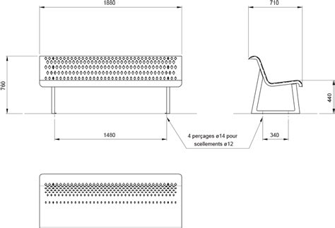 Profondeur Assise Banquette by Assises Accenturba